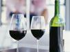 Flaske vin på rommet